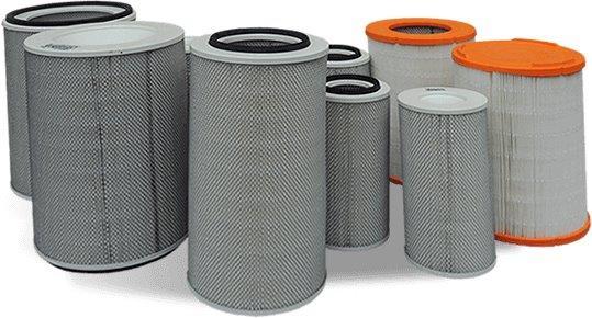 Filtros de ar para máquinas pesadas